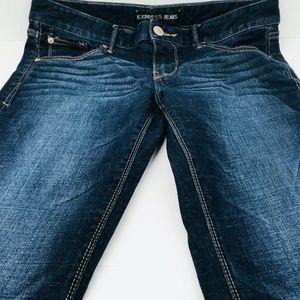 Express Jeans Size 8 Bootcut Stella Low Rise